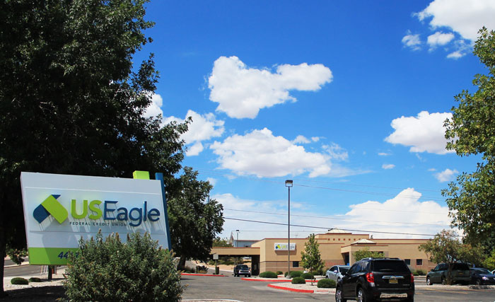U.S. Eagle Albuquerque credit union branch on Irving Boulevard Northwest