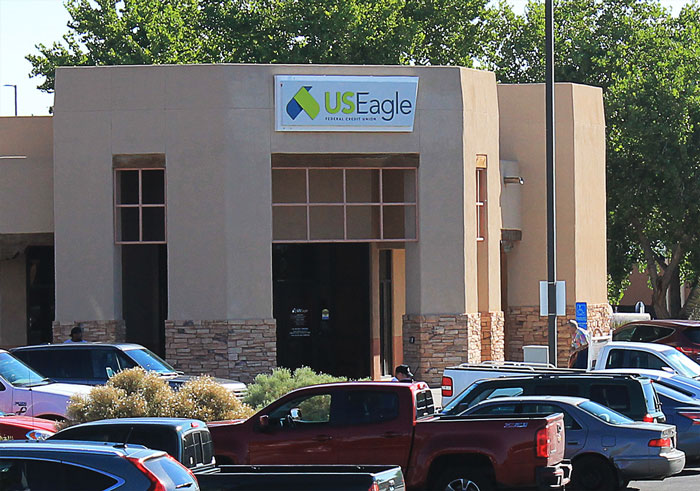 U.S. Eagle credit union branch in Bernalillo, New Mexico