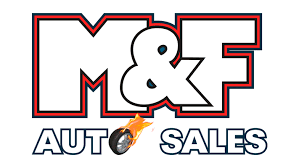 M and F Auto Sales Logo